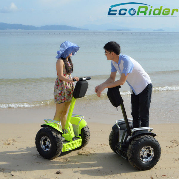 Yellow Electric Chariot Scooter Off Road 2 Wheeled Personal Transport