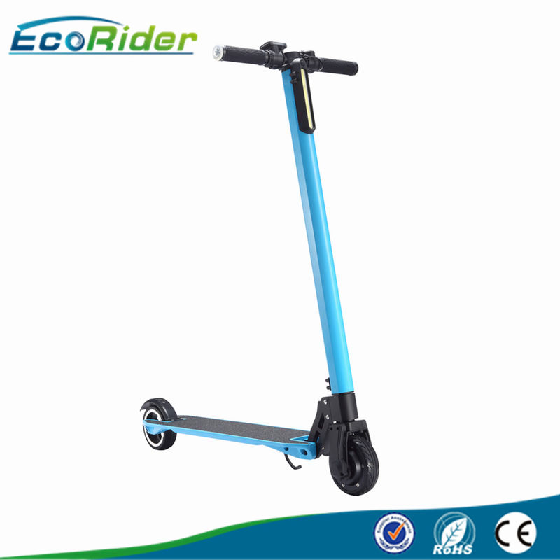 Foldable Carbon Fiber Electric Scooter / electric folding bike with 24V 350W brushless motor