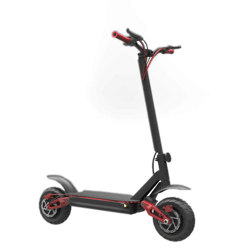 "10"" Two Wheel Electric Scooter 2000W 48V Off Road Skateboard With Double Battery"